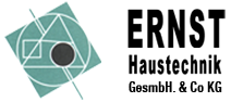 Die Ernst Haustechnik GesmbH & Co KG LOGO